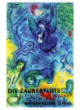 The Magic Flute Impressão giclée por Marc Chagall