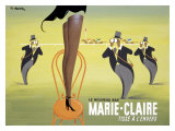 Marie Claire Giclee Print by Pierre Fix-Masseau