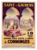 Saint Gaudens Grand Prix du Comminges Giclée-Druck