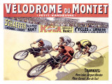 Vélodrome du Montet Reproduction procédé giclée par Marcellin Auzolle