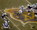 Adam Vinatieri - Super Bowl XXXVIII - Game Winning Field Goal (Horizontal)&#169;Photofile Foto