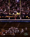 Adam Vinatieri - Super Bowl XXXVIII - Game Winning Field Goal (Vertical)&#169;Photofile Photo
