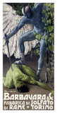 Barbavora and Company Giclee Print by Romolo Bernardi