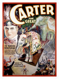 Carter the Great, The Vanishing Sacred Elephant Giclee Print
