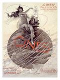 Cines, Italien Society, 1915 Giclee Print