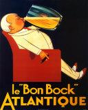 Birra Bon Bock Poster