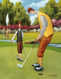 Putting for Birdie Prints by David Marrocco