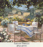 Tuscany Terrace Posters by Allayn Stevens