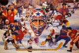 Eyes Of Hockey Prints by Clement Micarelli