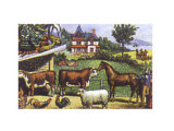 Country Farm Posters