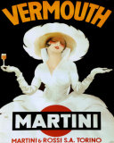 Martini Rossi &amp; Torino Poster by Marcello Dudovich