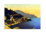 Amalfi Panorama Prints