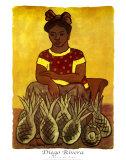 Vendedora De Pinas Posters by Diego Rivera