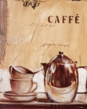 Time for Caff&#233; Prints by Anna Flores