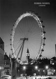 Ferris Wheel, London Posters