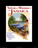 Holidays In Jamaica Posters