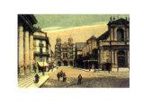 Dijon - La Place Saint-Etienne Posters