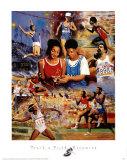 Track & Field Dreaming Poster av Clement Micarelli