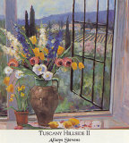 Tuscany Hillside II Prints by Allayn Stevens