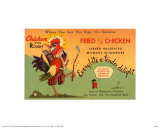 Fried Chicken Posters
