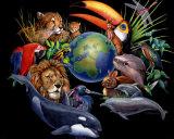 Tierra viva Lámina por Peter Kull