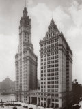 Wrigley Building, Chicago 1930 Print