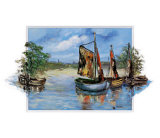 Sailing Boats Art by Katharina Schottler