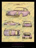 Porsche Patent Poster