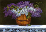 Lilacs Of Nantucket Prints by Robert Duff
