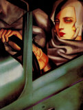 Autoritratto Poster von Tamara de Lempicka