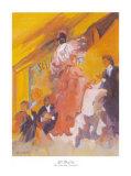 El Baile Print by Sharon Carson