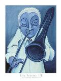 Blue Jazzman III Prints by Patrick Daughton
