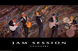 Jam Session Poster by Marcus Uzilevsky