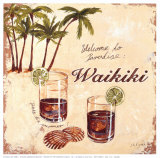 Waikiki Prints by Steff Green