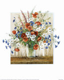 Vase with Poppies Posters by Katharina Schottler
