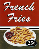 French Fries Posters by Catherine Jones
