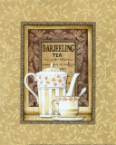 Darjeeling Tea Art by Charlene Audrey