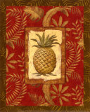 Exotica Pineapple Art by Charlene Audrey