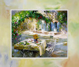 Our garden in bloom Art by Willem Haenraets