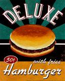 Catherine Jones - Deluxe Hamburger Obrazy