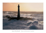 Phare de Skerryvore, Scotland Print by Jean Guichard