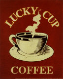 Lucky Cup Posters por Catherine Jones