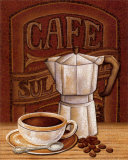 Cafe Mundo I Prints by Charlene Audrey