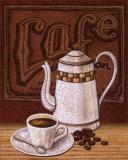 Cafe Mundo II Print by Charlene Audrey