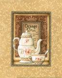 Pekoe-Tee Kunstdruck von Charlene Audrey