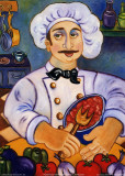La Cucina Italiana Print by Holly Wojahn