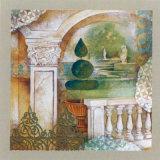 An Italian Garden I Posters by M. Patrizia