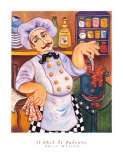 Il Chef di Padrone Print by Holly Wojahn