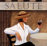 Salute I Prints by Valerie Sjodin