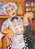 Il Chef di Padrone Posters by Holly Wojahn